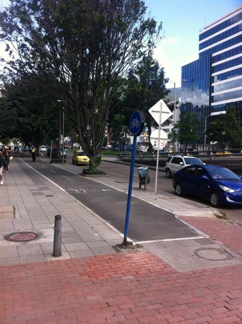 Zona central de Bogotá