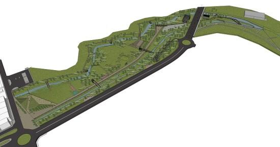 parque verde de Alcobaçasite