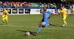 Valdir Júnior marcou o golo da vitória do Ginásio de penalty - Foto Fernando Jose (1)