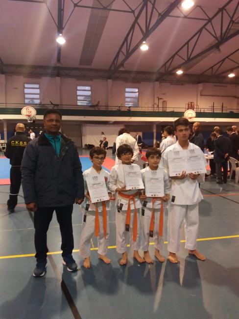 grupo de karate