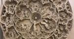 Reprodução da Roda da Vida do Túmulo de D. Pedro I