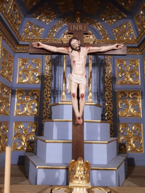 Crucifixo, da igreja paroquial de Alpedriz
