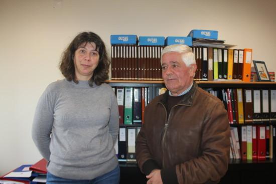 Provedor José Carvalho e diretora tecnica Elisabete Nogueira (1)