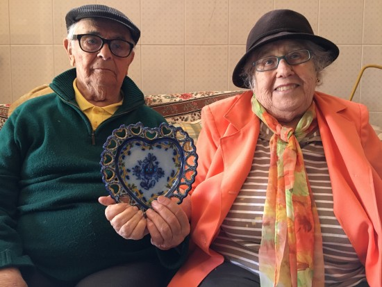 Ilda Marques e Jose Eduardo foto para O Alcoa