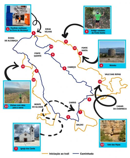 Percurso-Mapa-Vetorial-Cor