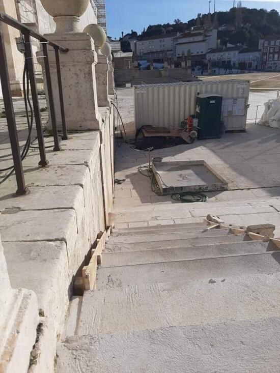 FOTO RUI ALEXANDRE Mosteiro de Alcobaca escada 5